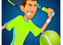 Stick Tennis Game Logo