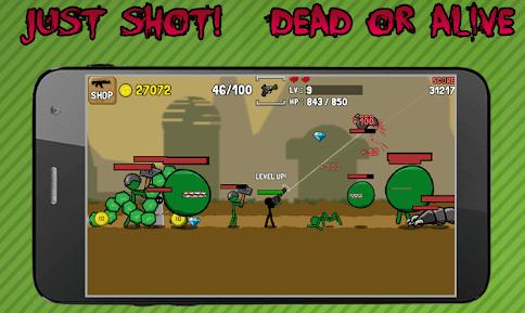 Stickman And Gun game