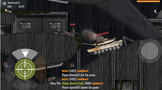 Stickman Battlefields game