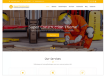 Super Construction WordPress Theme