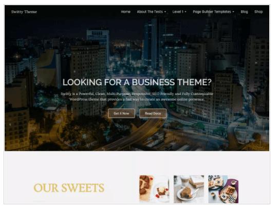 Switty WordPress Theme