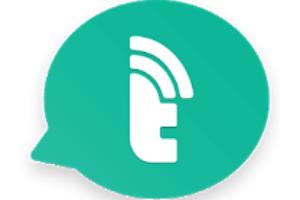 Talkray - Free Calls & Texts android app logo