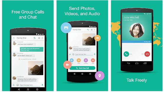 Talkray - Free Calls & Texts android app