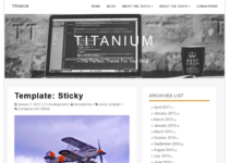 Titanium WordPress Theme