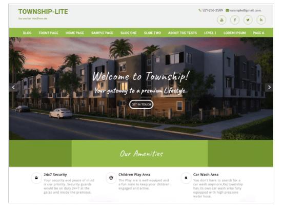 Township Lite WordPress Theme