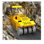 Tunnel Construction Highway 3D app logo