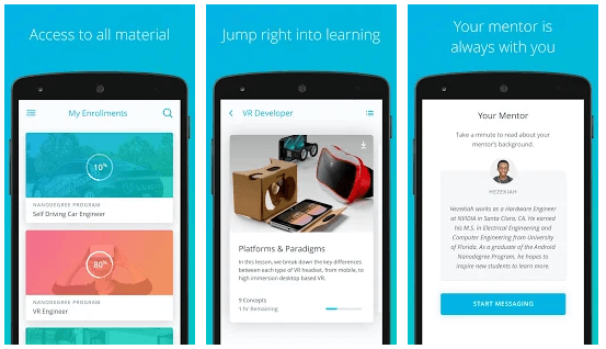 Udacity - Lifelong Learning android app