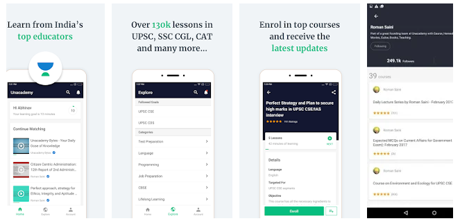 Unacademy Learning App android app