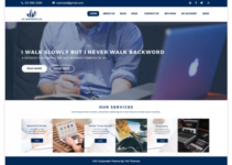 VW Corporate Lite WordPress Theme