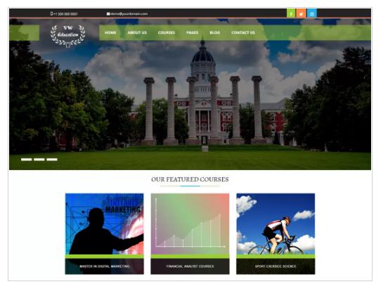 VW Education Lite WordPress Theme