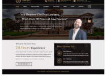 VW Lawyer Attorney WordPress Theme