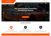 VW automobile Lite WordPress Theme