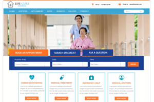 VW hospital Lite WordPress Theme