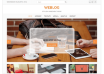 Weblog WordPress Theme