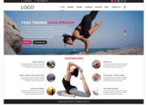 YogaFitness WordPress Theme