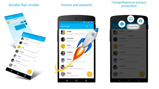 ZERO SMS - Fast & Free Themes android app