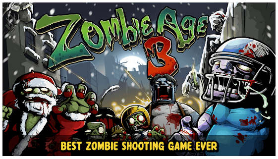 Zombie Age 3 Survival Rules android app