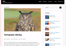 dax WordPress Theme