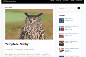 dax WordPress Theme