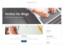 exBlog WordPress Theme
