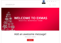 exMas WordPress Theme
