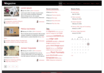 fMagazine WordPress Theme
