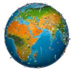 world map atlas 2018 android app logo