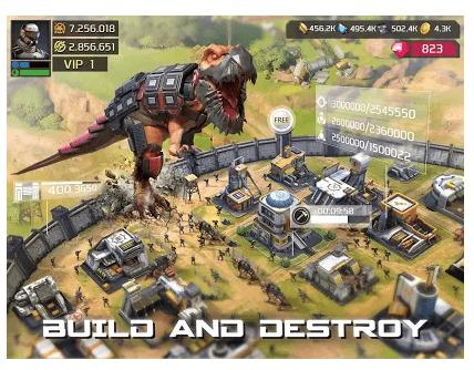 Dino War game