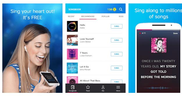 Karaoke Sing & Record app