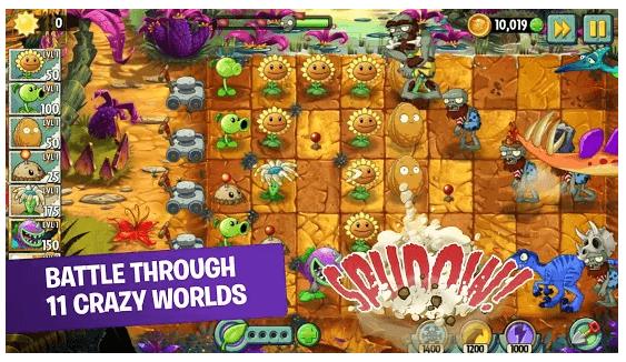 Plants vs. Zombies 2 game