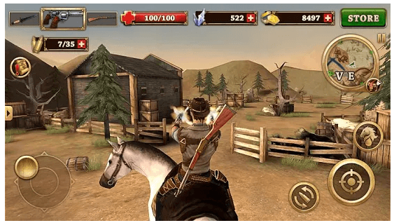 West Gunfighter game