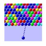 Bubble Shooter Game Logo