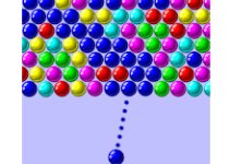 Bubble Shooter Game Logo