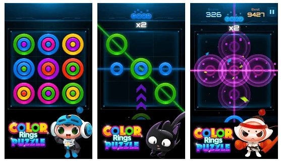 Color Rings Puzzle Game