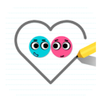 Love Balls Game Logo