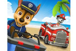 Paw Patrol Race Game Logo