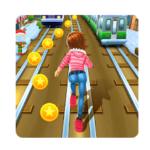 Subway Princess Runner Game Logo