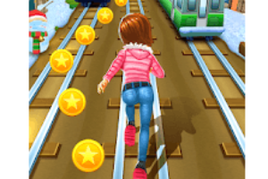 Subway Princess Runner Game Logo