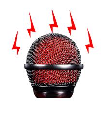 Live Microphone, Mic announcement logo