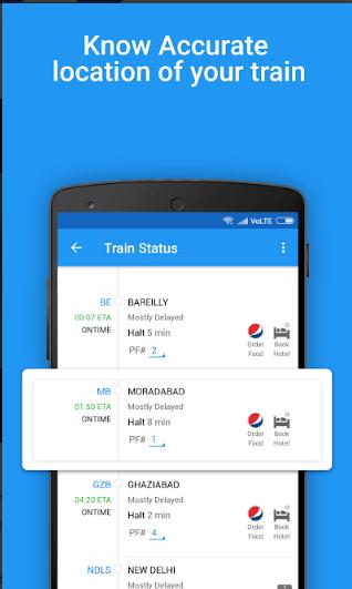 Live Train Running Status, PNR Status & Rail Info