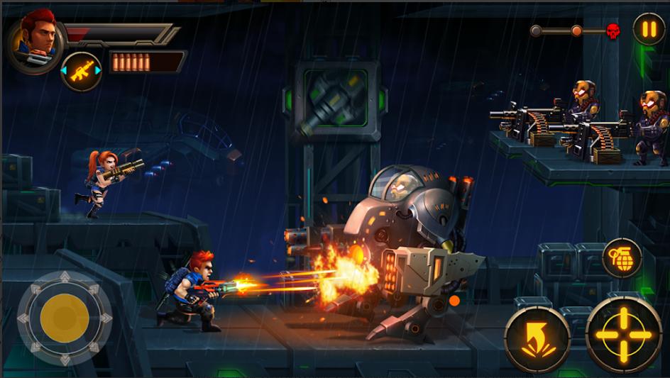 Metal Squad Shooting Game