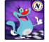 Oggy Go - World of Racing (The Official Game) logo