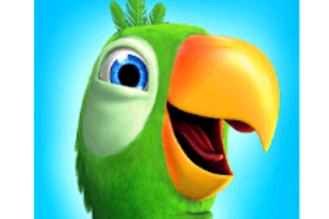 Talking Pierre the Parrot logo