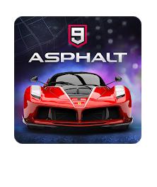 Asphalt 9 Legends - 2018's New Arcade Racing Game logo