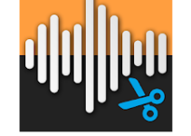 Audio MP3 Cutter Mix Converter and Ringtone Maker logo
