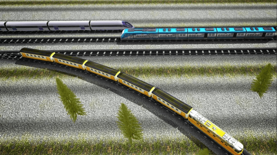 Euro Train Simulator 3D