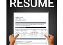 Free resume builder CV maker templates PDF formats logo
