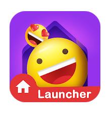 IN Launcher - Funny Emojis & GIFs, Themes logo