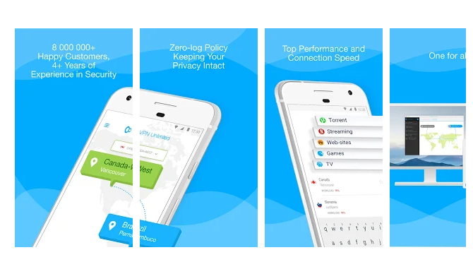 KeepSolid VPN Unlimited Free VPN for Android