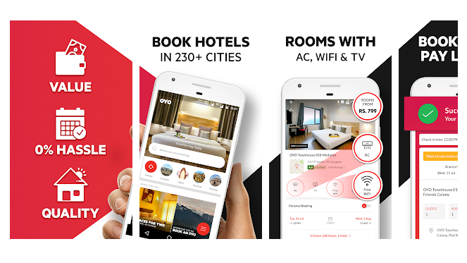 OYO Compare Hotels, Find Deals & Book Cheap Rooms